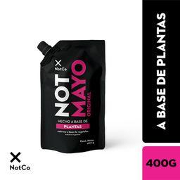 Not Mayo Aderezo A Base De Plantas
