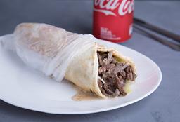 Shawarma + Coca