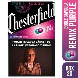 Chesterfield Remix Purple Box