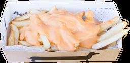 Fritas con Cheddar