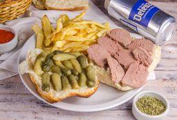 Sándwich Lewer & Cerveza