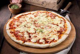 Pizza Jamón & Muzzarella Grande