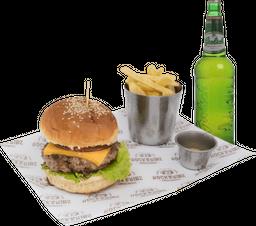 Hamburguesa + Papas + Grolsh