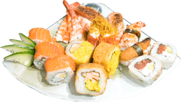 Sushi combinado premium 15 piezas