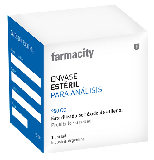 Farmacity Envase Estéril Para Análisis