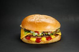 Combo Kevin Scott Veggie Style Burger