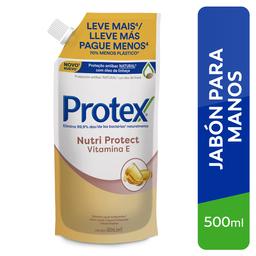 Protex Jabon Liquido Para Manos Vitamina E Refill