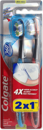 Cepillo Dental Colgate 360º Interdental Medio 2unid