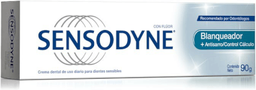 SENSODYNE BLANQUEADOR + ANTISARRO cr.dental x 90 g
