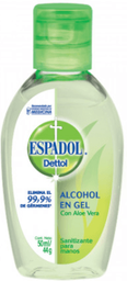 ESPADOL ALCOHOL EN GEL c/ALOE gel x50ml