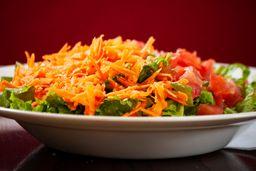 Ensalada de Tomate, Lechuga & Zanahoria