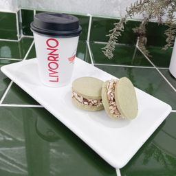 Combo Alfajores de Maicena Matcha & Café