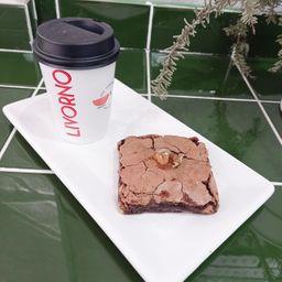 Combo Brownie & Café