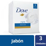 Jabón de Tocador Dove Original  90 g  X 3