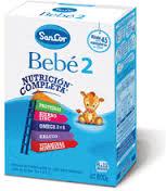 SANCOR BEBE 2 (NUTRICION COMPLETA) pvo.x 800 g