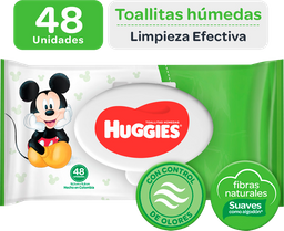 Toallas Húmedas Huggies Limpieza Humectante 48 U