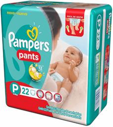 PAÑALES PAMPERS PANTS pa±al x22u PEQ