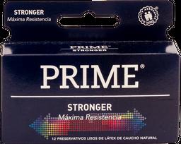 Preservativos Prime Stronger X12U