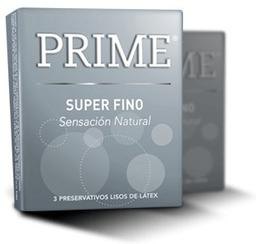 Preservativo  Prime Super Fino x 3 U