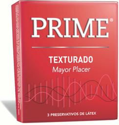 Preservativo  Prime Texturado x 3 U