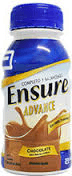 ENSURE ADVANCE SHAKE Chocolate env.x 237 ml