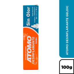 Atomo Desinflamante Geldic X 100 Gr.