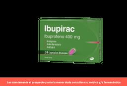 IBUPIRAC CAPSULA BLANDA 400 mg cßps.blandas x 24