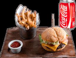 Falafel Burger + Bebida