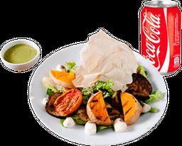 Ensalada de Vegetales + Bebida