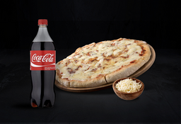 Promo 1: Pizza Grande Doble Muzza & Gaseosa