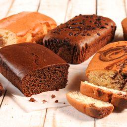Budín Relleno de Chocolate
