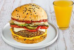 Porto Cheese Burger & Bebida