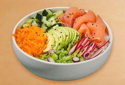 Poke Salmon Salad