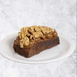 Brownie con Dulce de Leche y Nueces