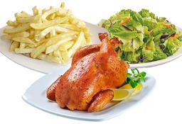Pollo a la Brasa & 2 Guarniciones