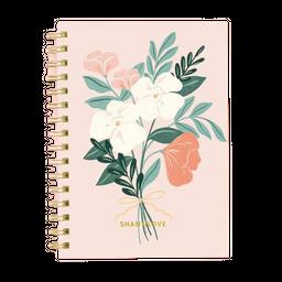 Ledesma Cuaderno A5 Estampas Bounch Liso