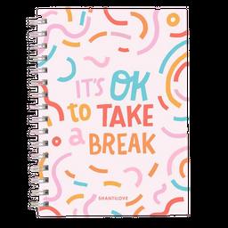 Ledesma Cuaderno Journal A5 Hojas Punteadas Breathe