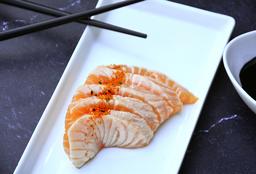 Sashimi de Salmón Spicy - 5 U