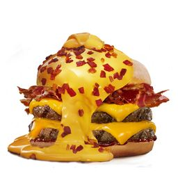 Doble Mega Boom Bacon & Cheddar