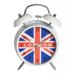 Reloj Despertador England White