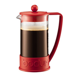 Bodum Cafetera 3Poc Brazil Rojo