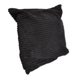 Funda Para Almohadón Negra 45 x 45 cm