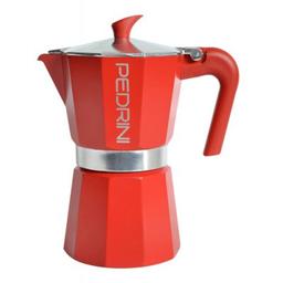 Bodum Cafetera de 6 Pocillos Color Rojo