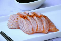 Sashimi Salmón Spicy x 5