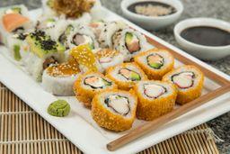 18 Piezas Sushi
