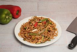 Chow Mien con Carne