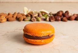 Chocolate y Naranja Macaron