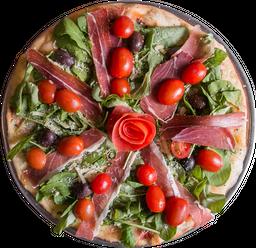 Pizza de Crudo & Rúcula