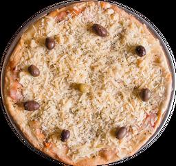 Pizza de Provolone y Jamón