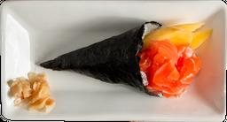 Temaki Salmón y Mango